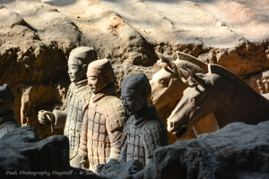 Closeup of Terracotta Warriors