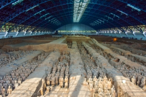 Pit 1: Terracotta Warriors